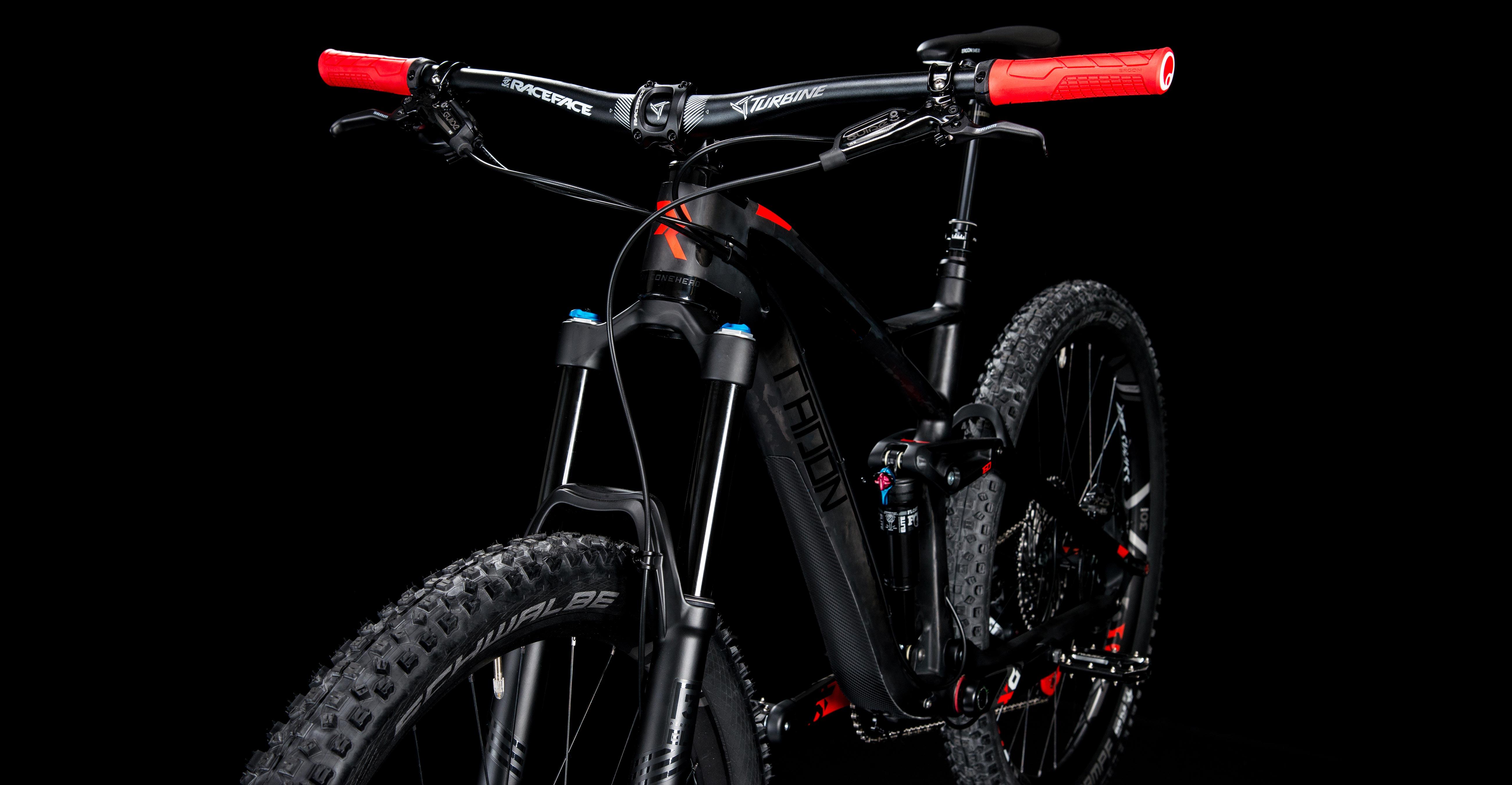 slide carbon 160 10 0 radon bikes. Black Bedroom Furniture Sets. Home Design Ideas