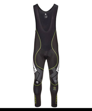 Team Winter Membrane P2 Bibtights with Pad